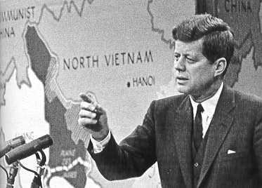 a discussion on kennedys presidency and the vietnam war Nixon beats kennedy in 1960 discussion in  there would be less us involvement in vietnam war  part of the problem in predicting how a nixon presidency in 1960.